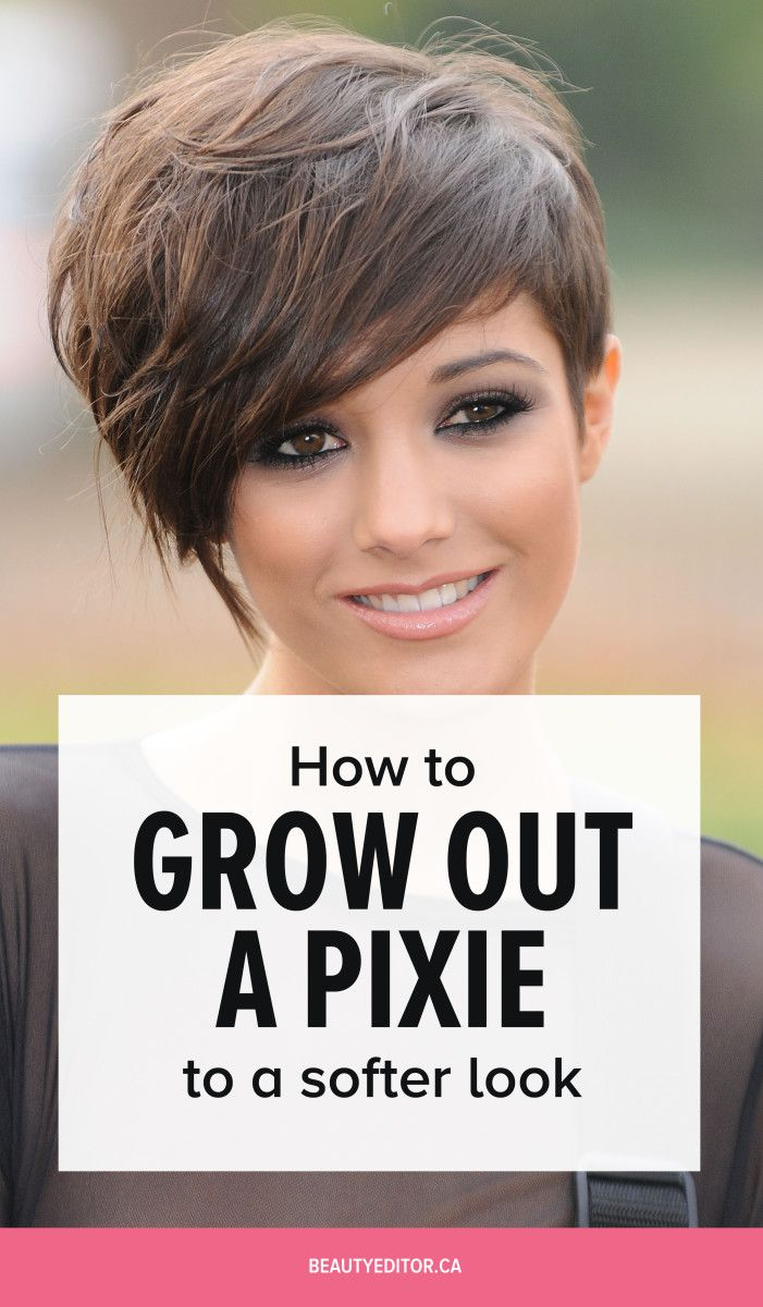 Ask A Hairstylist How To Grow Out A Spiky Pixie For A Softer Look Growing Out Short Hair Styles Growing Out Hair Growing Short Hair