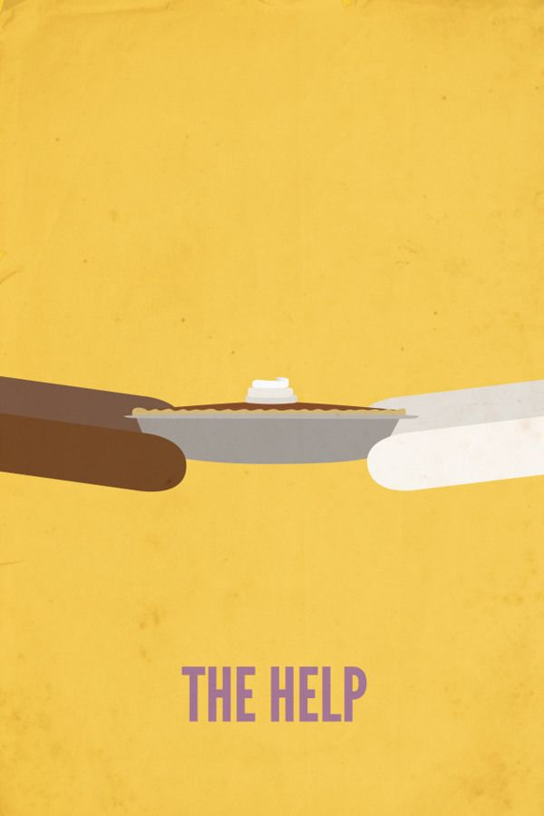 The Help (2011) ~ Minimal Movie Poster by Rebekah Marcum #amusementphile