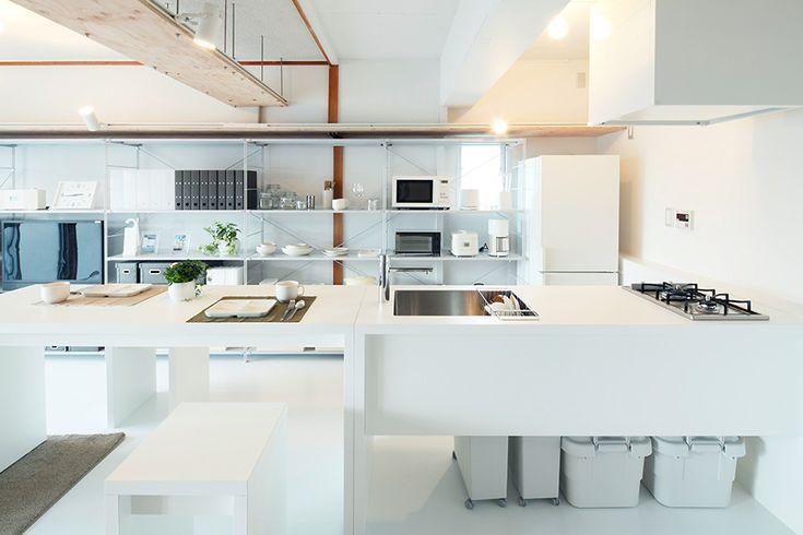 MUJI×UR共同開発商品 組合せキッチン | MUJI×UR 団地リノベーションプロジェクト | 無印良品の家