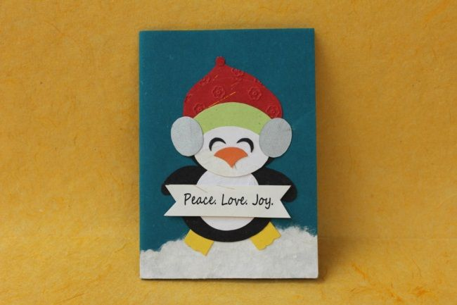 Handmade and ethical Christmas cards made by Earn n Learn. Find out more at info@arushi.co.uk
