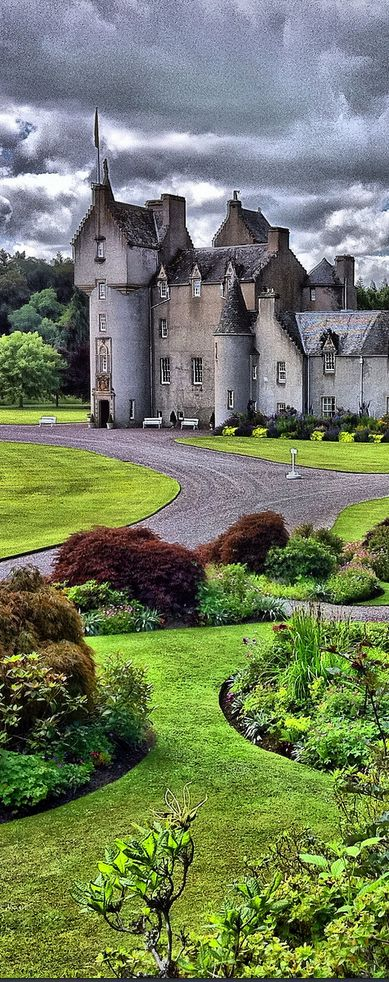 Ballindalloch Castle, Scotland (Photo by Graeme Stein)                                                                                                                                                                                 More