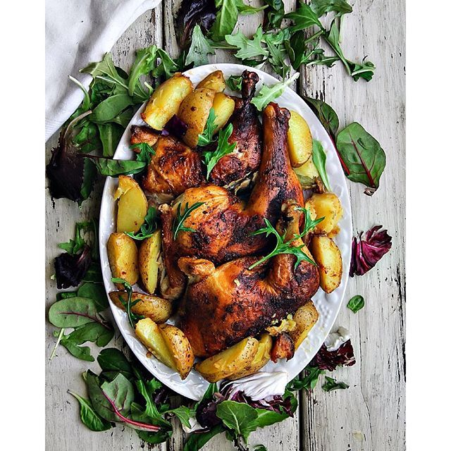 Cajun Chicken With Roasted Yellow Potatoes