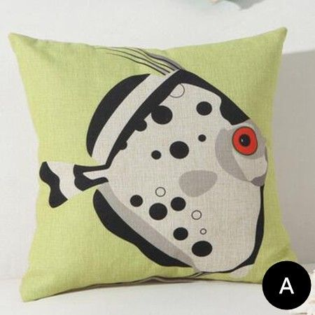Pin By Throw Pillows Home On Fish Throw Pillows For Couch Best Beach Themed Pillows Decorative