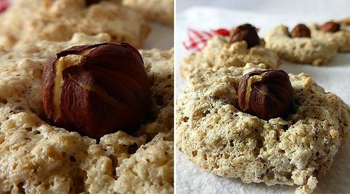 Low Carb Rezept für leckere Low-Carb Kaffee-Nuss-Makronen. Wenig Kohlenhydrate und einfach zum Nachkochen. Super für Diät/zum Abnehmen.