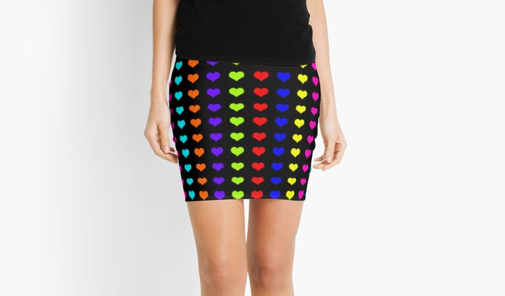 20% OFFsitewide. Use code FIRSTPLACE20. Colorful Neon Hearts pattern Mini skirt by Scar Design. #valentinesdaygifts #valentines #valentinesday #skirt #sale #sales #deals #discount #miniskirt #colorful #womensfashion #heart #life #love #living #style #redbubble #teen #kidsgifts #teengifts #love #online #shopping #style #awesome #cool #family #popular #art #design #popart #gifts #giftsforher #fashion #39 #giftideas