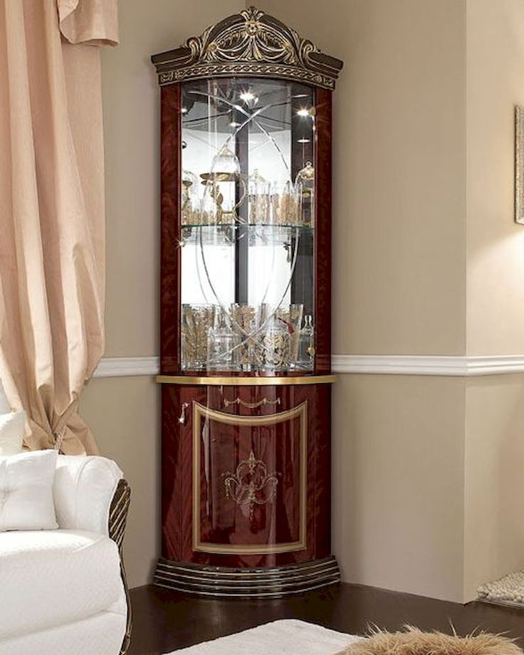 Corner Cabinet Dining Room Furniture: 25+ Best Ideas About Corner Display Cabinet On Pinterest