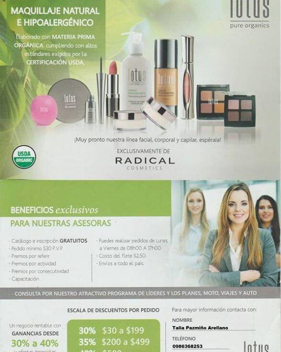 Quieres ser asesora de belleza y tener ingresos extras  Lotus cosmetics Guayaquil  Te invita a formar parte de su fan page  http://ift.tt/2inZv0i  INGRESA A NUESTRO GRUPO WHATSAPP  pulsa el boton registrarte en nuestra fan page