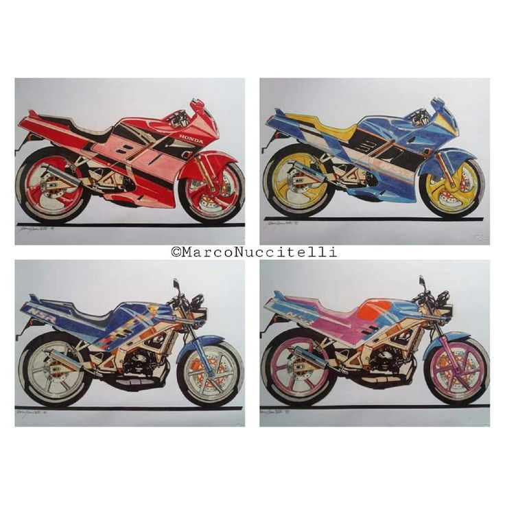 Amazing days in Milan, working with Mr. Tsutomu Sakuma at the Honda Europe Design Centre on the new models NSR 125....my sketches - year 1990 ©MarcoNuccitelli #marconuccitellidesign #italy #design #motorcycle