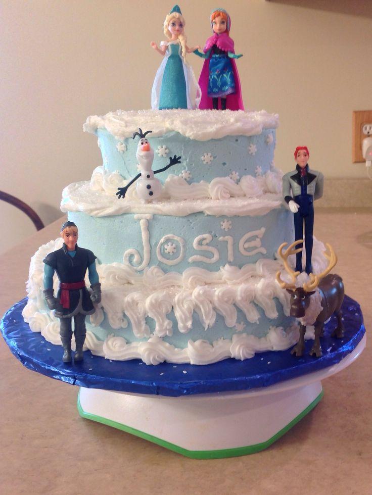 159 Best Images About Disney Frozen Cake Ideas On Pinterest