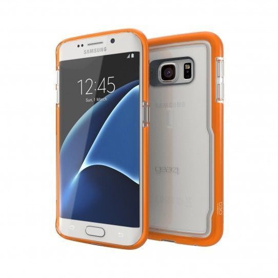 Gear4 Piccadilly Case for Galaxy S7 Edge - Orange | Mobile Phones & Communication, Mobile Phone & PDA Accessories, Cases & Covers | eBay!