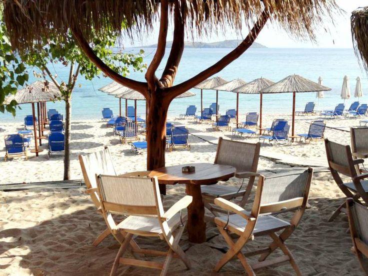 Psili Ammos beach bar