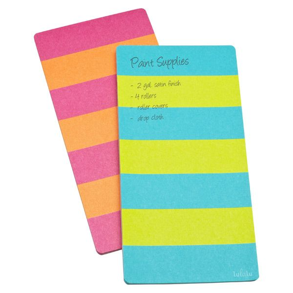 The Container Store U003e Lulalu® Striped Paper Pad