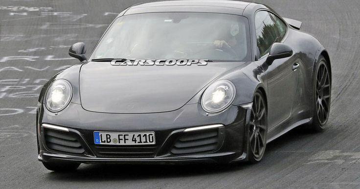 2019 Porsche 911 Comes Out To Work On Its Brand New Platform #Porsche #Porsche_911
