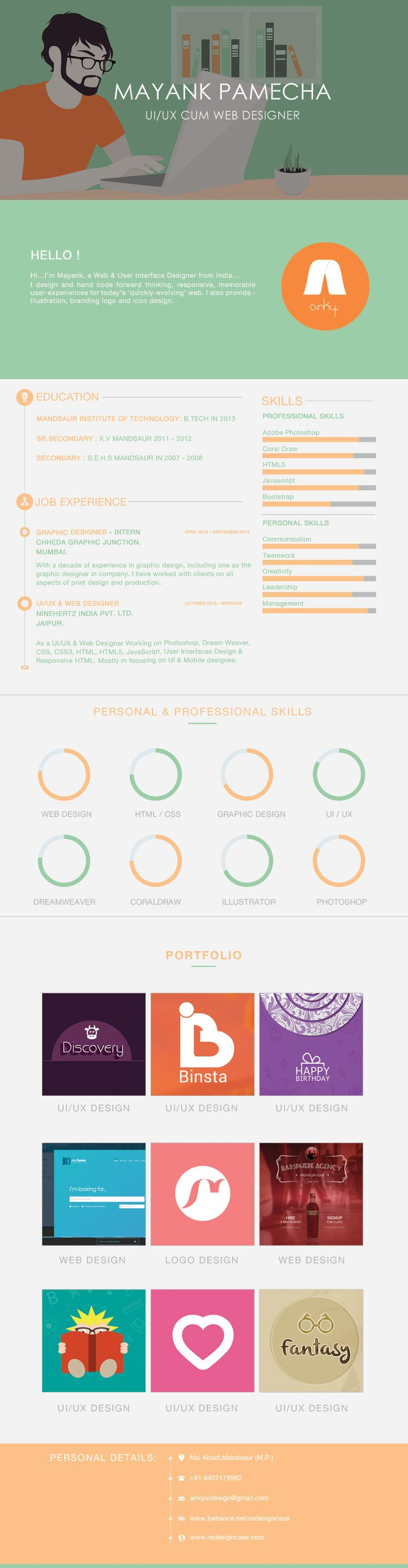 10 best My Portfolio #UX #UI #Freelance #Design images on Pinterest ...