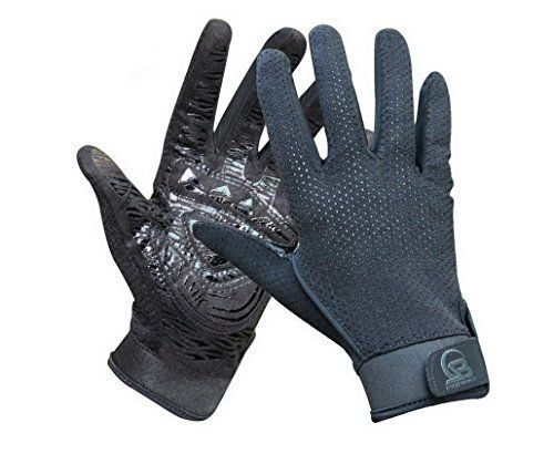 Non-slip Safe Breathable Lightweight Comfortable Durable Cool Gloves Mountain Bike Gloves Fullhand Protector for Road Biking Motor Racing Cycling BMX Bicycle Riding Climbing Outdoor Workout Rock Climbing Gloves with Rope Eyelet Thick Black