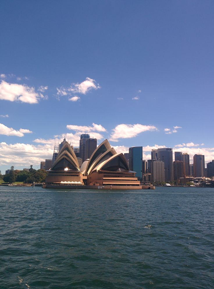 Sydney Harbour Bridge... From the ferry :)