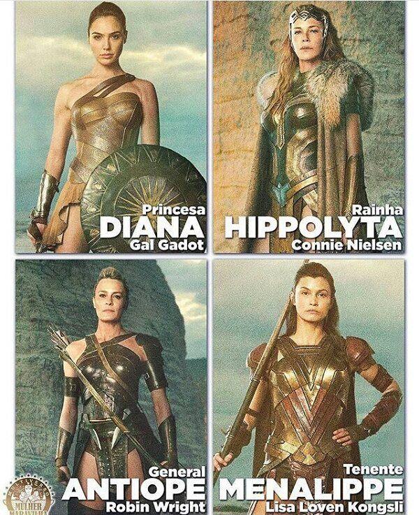 The Amazons, wonder woman