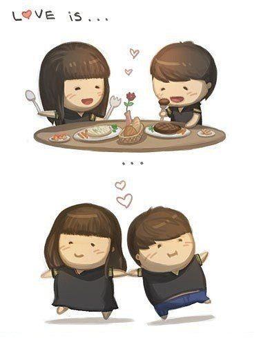 Láska je....