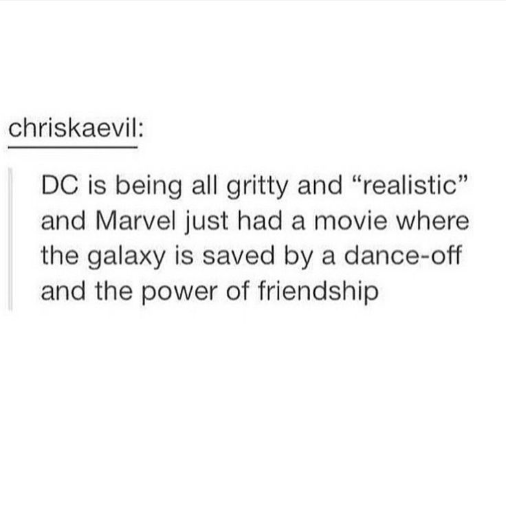 are you implying that a dance-off and saving the world with the power of friendship is unrealistic?