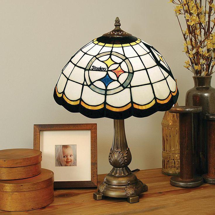 Football Fan Shop Pittsburgh Steelers Tiffany Style Table Lamp