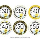 These sweet bee theme clock numbers are great to help your students tell time. They match the other bee theme items I have in my store.  The labels...