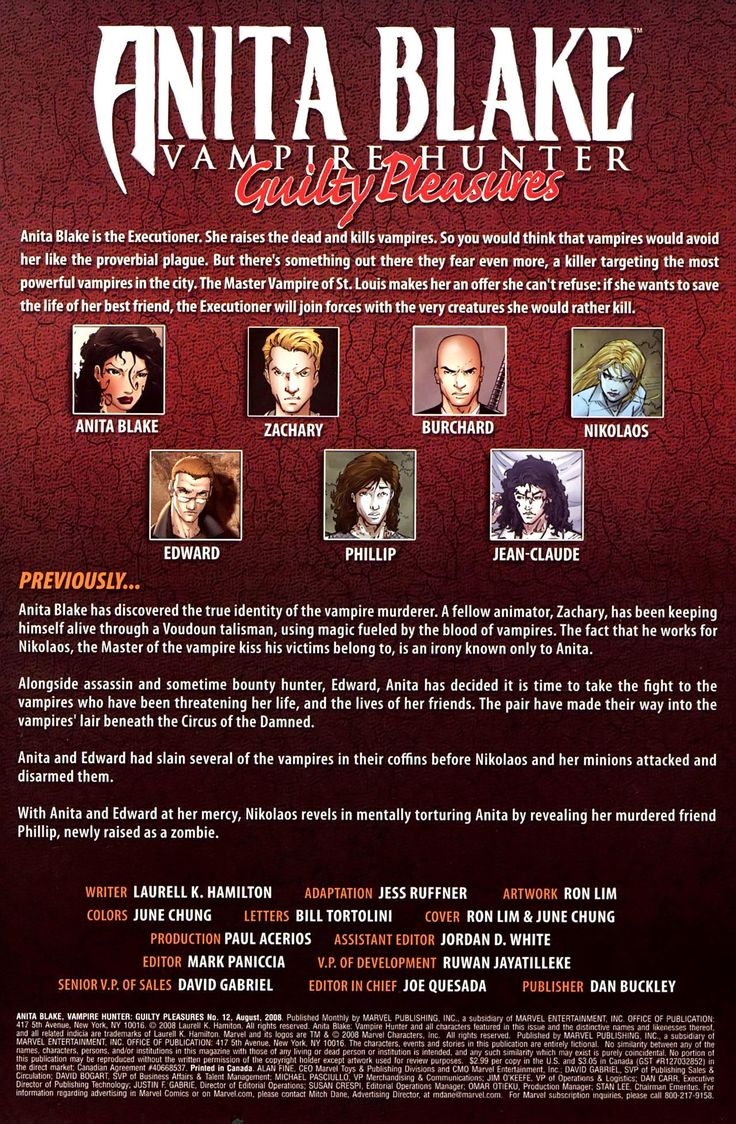 Anita Blake, Vampire Hunter: Guilty Pleasures 12 Page 2