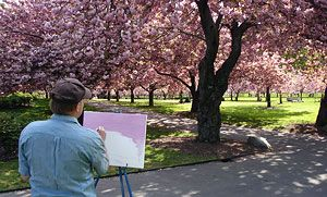 Isamu Noguchi at Brooklyn Botanic Garden FREE on Tuesdays or $12