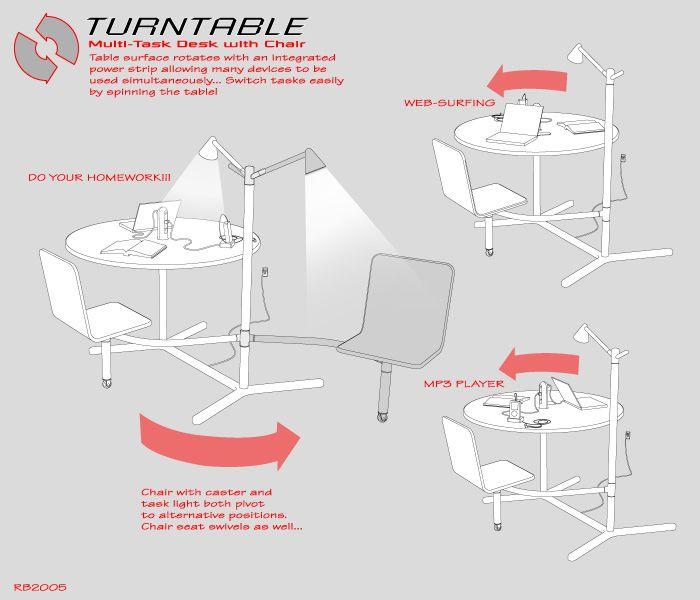 turntable not really designboom