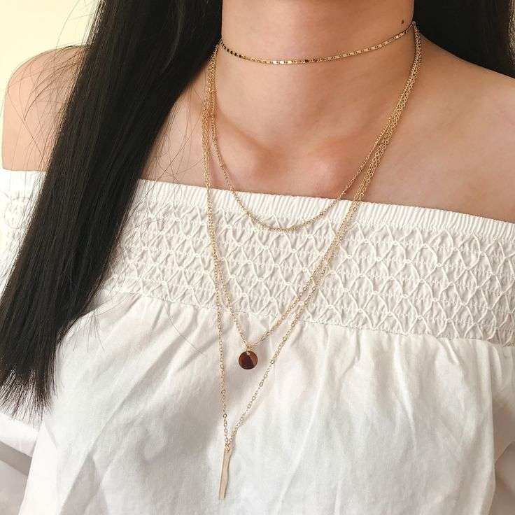 This gorgeous Gold Boho Layer Necklace Set has just arrived to our shop! Such a beautiful piece to complement your effortless style :) Stay chic, stay golden! xo