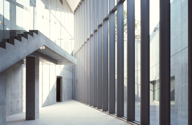 Interior of the 21_21 Design Sight Museum, Tokyo Tadao Ando (安藤 忠雄) 2007
