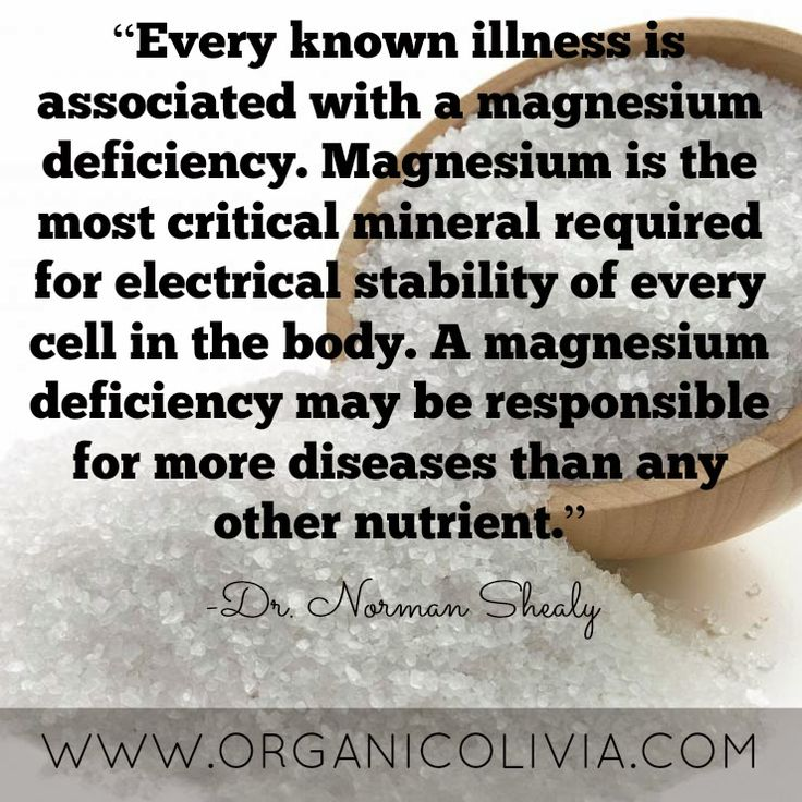 Signs of magnesium deficiency are everywhere in the United States, if you know what to look for. Unfortunately, the symptoms are so incredibly common that they constantly slip under the radar! Hard...