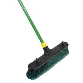 Quickie Bulldozer Poly Fiber Stiff Push Broom- lowes sales