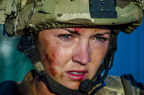 Lacey Turner as Pvt Molly Dawes in Our Girl