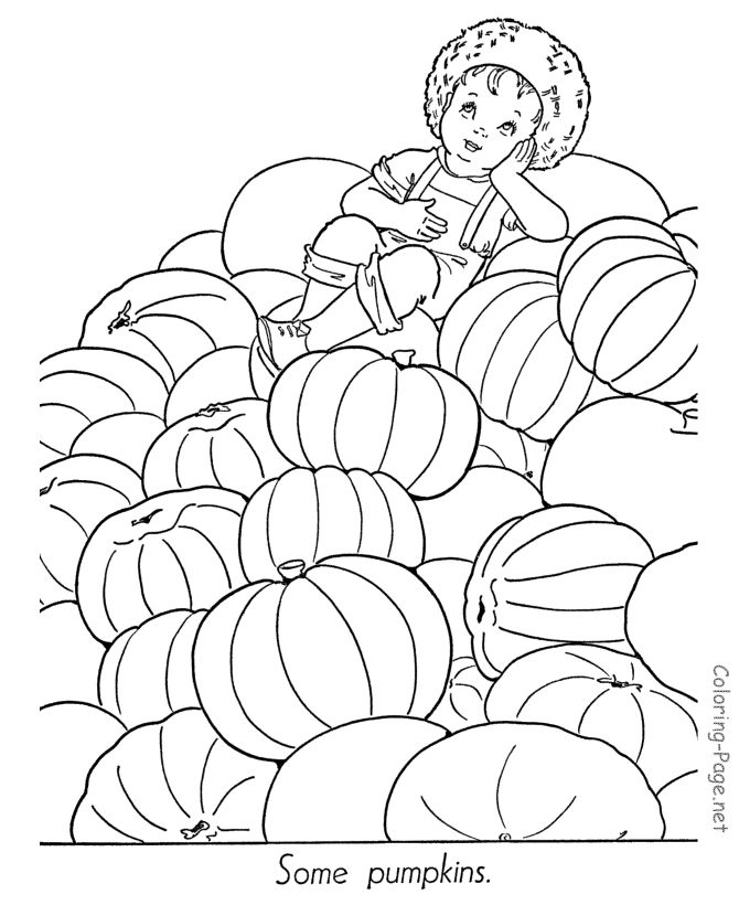 30 best Halloween Fall coloring pages images on Pinterest Male - best of fun coloring pages for fall