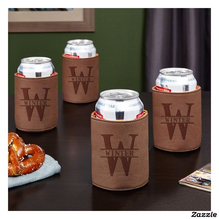 Oakmont Insulating Can Holders, Set of 4