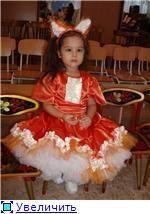 Детский новогодний костюм лисички фото