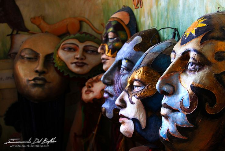 A World of Masks by emanueledelbufalo on 500px