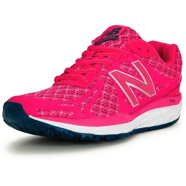 New Balance New Balance W720V3 Running Trainers ($65) ❤ liked on Polyvore featuring shoes, athletic shoes, new balance, new balance shoes, new balance footwear, fleece-lined shoes and new balance athletic shoes