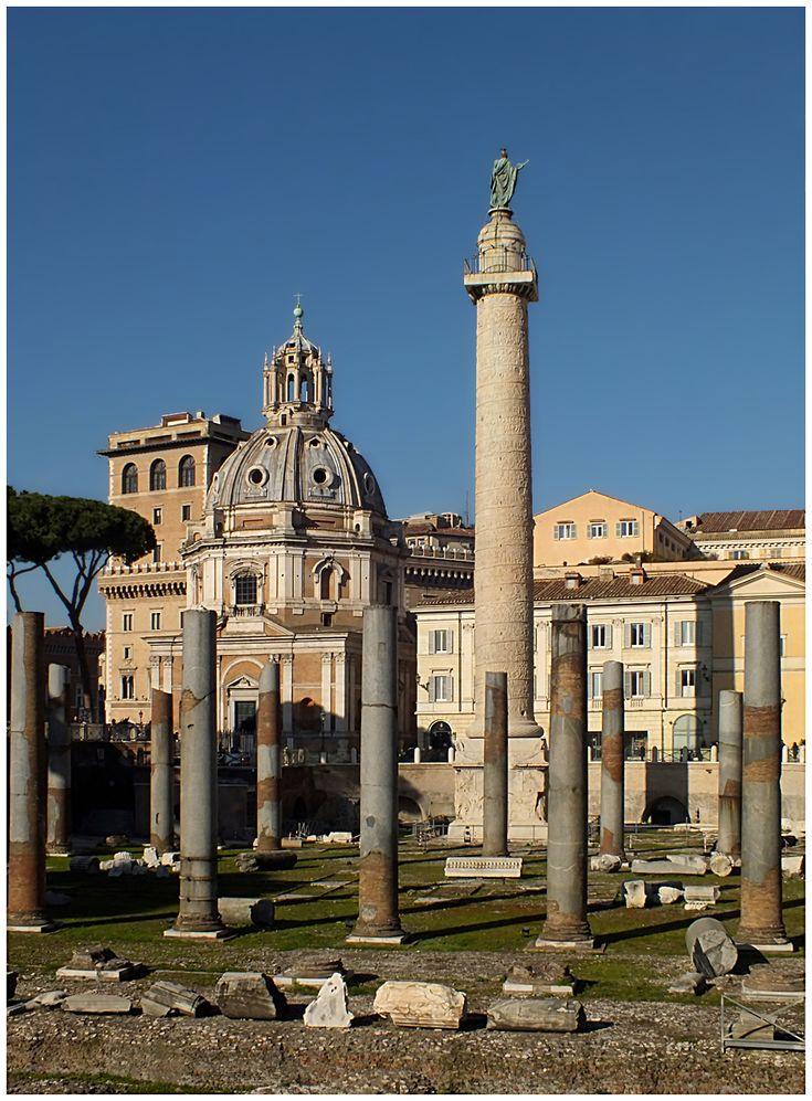 Colonna Traiana - Roma, Rome