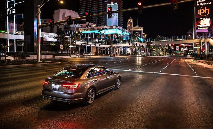 Vous avez toujours rêvé de passer tous les feux tricolores au vert ? Audi vous en donne les moyens à Las Vegas, sur ses derniers modèles d'A4 et Q7