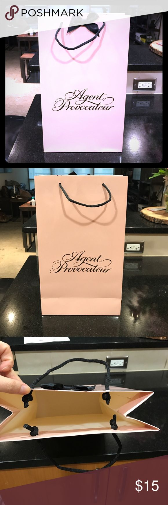 Agent Provocateur Bag Make your sales look more professional with this high quality Agent Provocateur bag. Mint condition. Agent Provocateur Bags