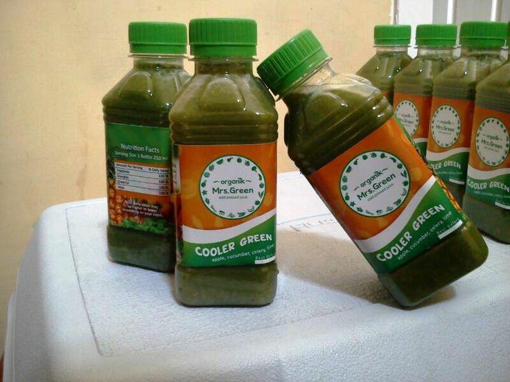 #coolergreen #juice #organic #rawjuice #coldpressed