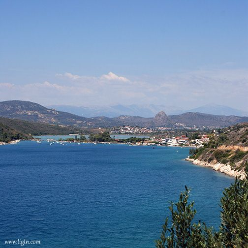 The scenic lagoon at #Vivari, near #Nafplio in #Argolida - #Greece