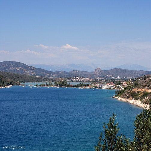 The scenic lagoon at #Vivari, near #Nafplio in #Argolida - #Greece
