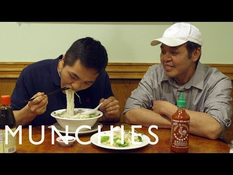 For a novice, a bowl of pho can be just as intimidating as it is delicious, what with all the different cuts of meat, condiments, and edible accoutrements that can come along with your meal. Thankfully, Vincent and Mikey Kha—the father and son duo who run Pho & Cafe Anh Hong in Upper Darby, PA—are here to teach us all about it. From what to look for when you taste the broth to proper sauce etiquette, you'll quickly learn everything you need to know from these pho experts.