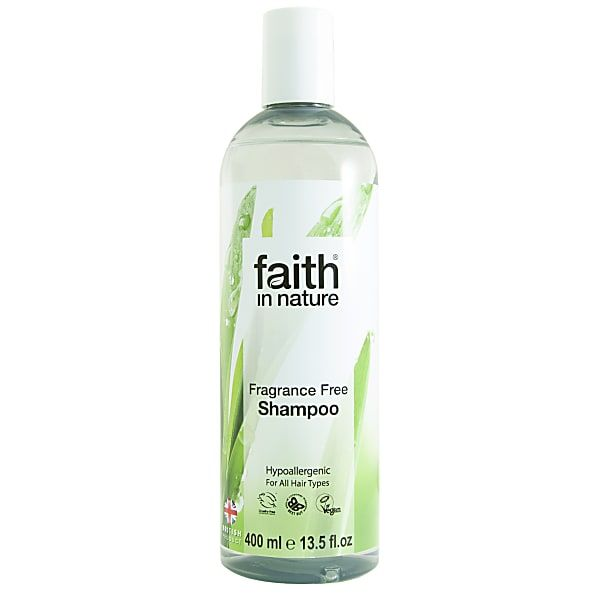 Faith in Nature Fragrance Free Shampoo - drying but non irritating