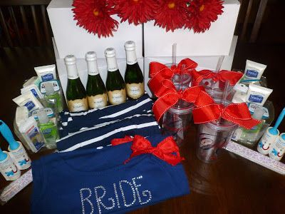 Bridesmaid gift boxes - wedding day swag - matron of honor duties