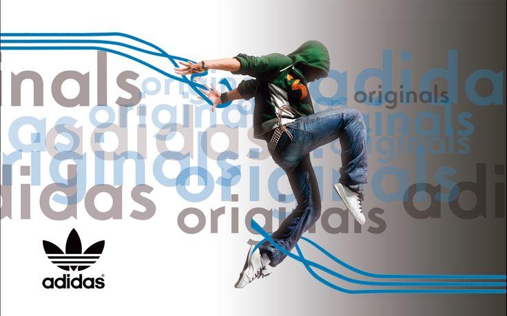 Flayer Adidas Originals Taller de diseño Gráfico