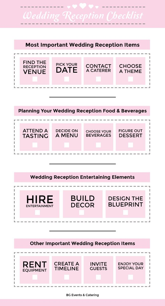Best 20+ Reception Checklist ideas on Pinterest | Reception ...