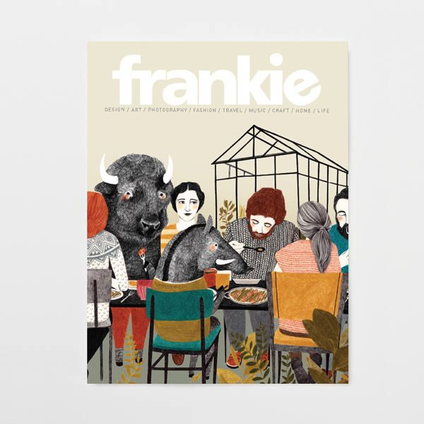 You really only need one reason to buy issue 58: John Waters. Plus philosophical musings on eyeliner, ice skating and having ethnic parents; pet portraits from animal-loving artists; and a look at what it's like to hear with a bionic ear. http://www.frankie.com.au/current-issue/issue-58